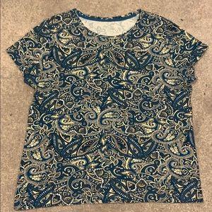Vibrant paisley shirt